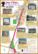 Jane Austen Trail Leaflet Alton