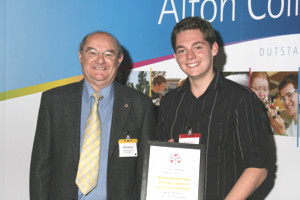 2008-09 ACCI scholar: Sam Nicholson